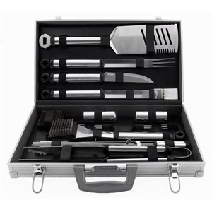 Mr. Bar-B-Q 21pc Prestige Stainless Steel Tool Set