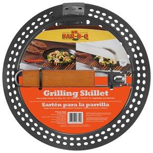 Mr. Bar-B-Q Non-Stick Grill Skillet w / Remove handle