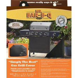 Mr. Bar-B-Q Platinum Prestige Medium Grill Cover