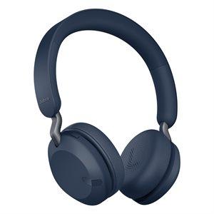 Jabra Elite 45h Wireless Headphones Navy