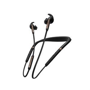 Jabra Elite 65e In-Ear Noise Cancelling Bluetooth Headphones, Copper / Black