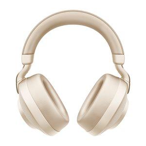 Jabra Elite 85h Wireless Headphone, Gold Beige