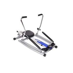 Rower with free motion arms