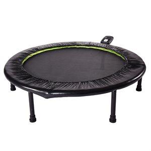 Stamina Fitness Trampoline 1635 - Black / Green
