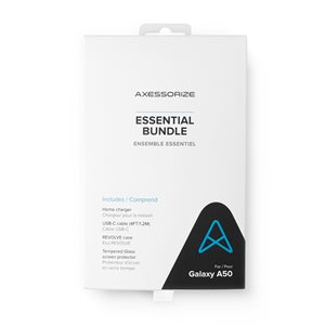 Axessorize Essential Bundle for Samsung Galaxy A50