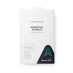 Axessorize Essential Bundle for iPhone 11 / Xr