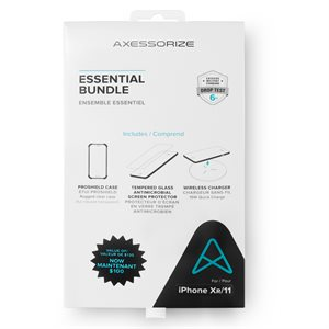 Axessorize Essential Bundle PROShield for iPhone 11 / Xr