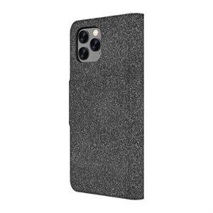 Axessorize LUXFolio case for iPhone 11 Pro Max, Comet Black