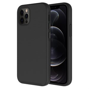 Axessorize PROTech Case for Apple iPhone 12 Pro Max, Black