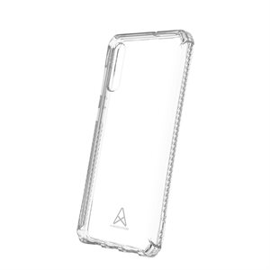 Axessorize REVOLVE Rugged TPU case for Samsung A70, Clear