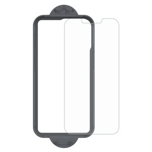 Axessorize ARMORGlass Pro Screen Protector with tray iPhone 13 Mini - Clear