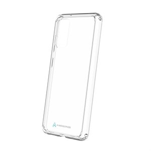 Axessorize Hybrid Ultra Clear Gel Case for Samsung Galaxy S20, Clear