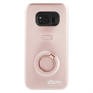 Case-Mate Allure Selfie Case for Samsung Galaxy S8, Rose Gold
