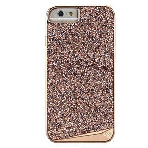 Case-Mate Brilliance Tough Case for iPhone 6s Plus / 7 Plus / 8 Plus, Rose Gold