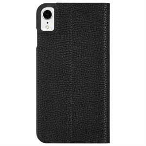 Case-Mate Barely There Folio Case for iPhone XR, Black