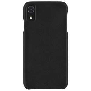Case-Mate Barely There Leather Case for iPhone XR, Black