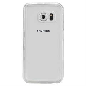 Case-Mate Naked Tough Case for Samsung Galaxy S6 Edge, Clear / Clear