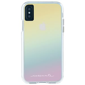 Case-Mate Naked Tough Case for iPhone X / XS, Iridescent