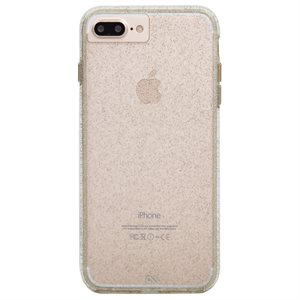Case-Mate Sheer Glam Case for iPhone 6s Plus / 7 Plus / 8 Plus, Champagne