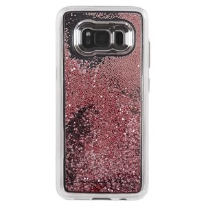 Case-Mate Waterfall Case for Samsung Galaxy S8, Rose Gold