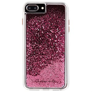 Case-Mate Waterfall Case for iPhone 6s Plus / 7 Plus / 8 Plus, Rose Gold