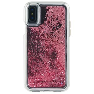 Case-Mate Waterfall Case for iPhone X / XS, Rose Gold