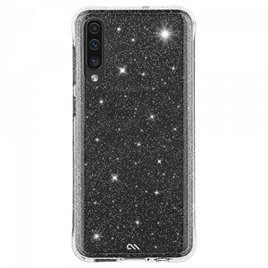 Case-Mate Sheer Crystal for Samsung Galaxy A50, Clear