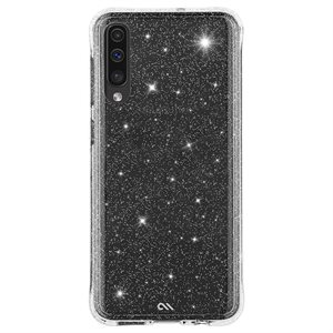 Case-Mate Sheer Crystal for Samsung Galaxy A70, Clear