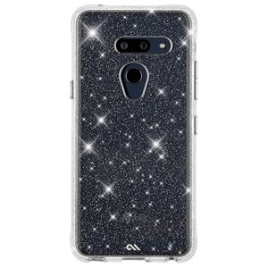 Case-Mate Sheer Crystal for LG G8 ThinQ, Clear