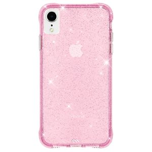 Case-Mate Sheer Crystal Case for iPhone XR, Blush
