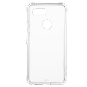 Case-Mate Tough Clear Case for Google Pixel 3, Clear