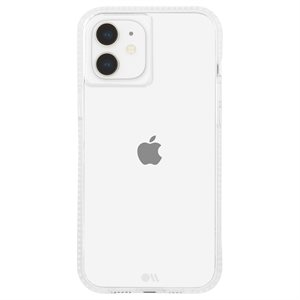 Case-Mate Tough Clear Plus Case for iPhone 12 Mini with Micropel, Clear