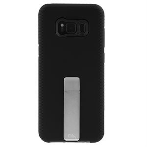 Case-Mate Tough Stand Case for Samsung Galaxy S8 Plus, Black / Silver