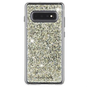 Case-Mate Twinkle Case for Samsung Galaxy S10+, Stardust