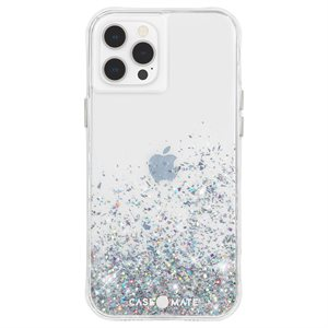 Case-Mate Twinkle Case for iPhone 12 / 12 Pro with Micropel - Ombre