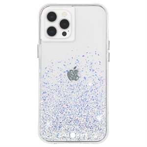 Case-Mate Twinkle Case for iPhone 12 / 12 Pro with Micropel - Ombre Stardust
