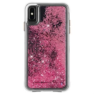 Case-Mate Waterfall Case for iPhone Xs Max, Rose Gold