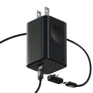 Einova 65W Chromebook Power Adapter - Black