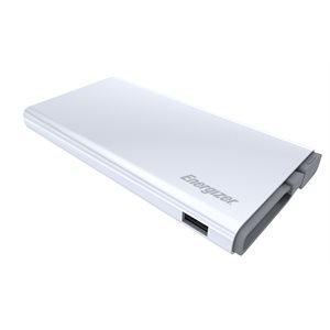 Energizer Powerbank 10000mAh QC MicroUSB to USB, White