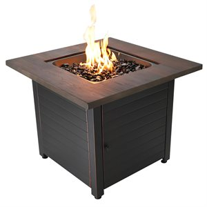"""Endless Summer The Spencer 30"""" LP Gas Fire Pit"""