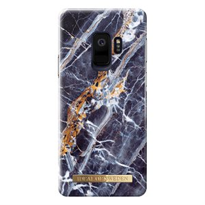iDeal of Sweden Fashion Case for Samsung Galaxy S9, Midnight Blue Marble