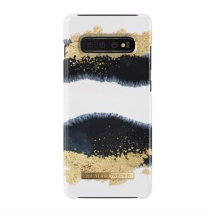 iDeal of Sweden Fashion Case for Samsung Galaxy S10 Plus, Gleaming Licorice