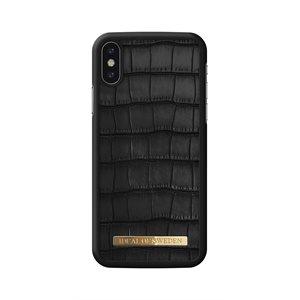 iDeal of Sweden Fashion Capri Case for iPhone Xs / X, Black Croc