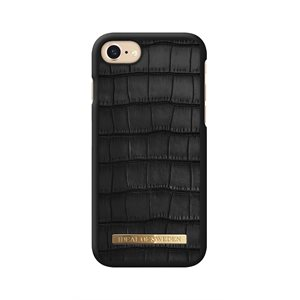 iDeal of Sweden Fashion Capri Case for iPhone 8 / 7 / 6s, Black Croc
