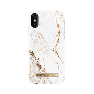 iDeal of Sweden Fashion Case for iPhone Xs, Carrara Gold Marble