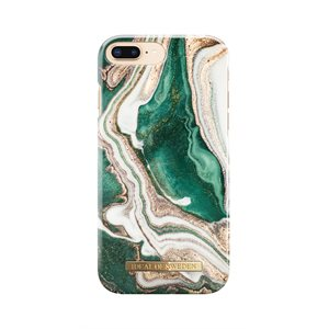 iDeal of Sweden Fashion Case for iPhone 8 / 7 / 6s Plus, Golden Jade Marble