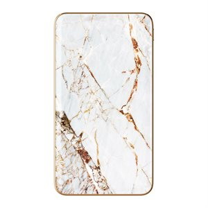 iDeal of Sweden Fashion Power Bank, Carrara Gold Marble