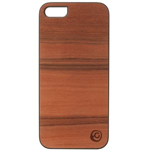 Affinity Wood Cover for iPhone 5 / 5s, Sai Sai with Black Sides