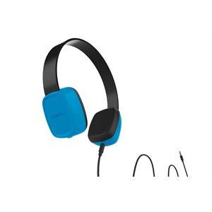 Kenu Groovies Kid's Headphones, Blue
