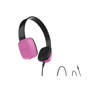 Kenu Groovies Kid's Headphones, Pink